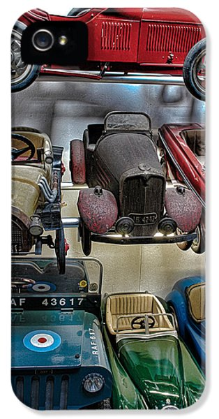 Kits iPhone 5 Cases - Vintage Cars iPhone 5 Case by Martin Newman