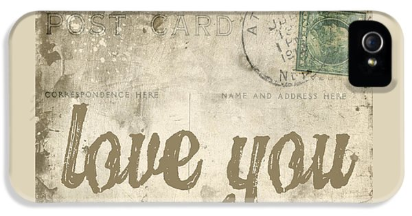 Vintage Love Letters IPhone 5 / 5s Case by Edward Fielding