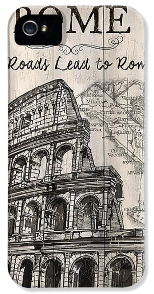 Vintage Travel Poster IPhone 5 / 5s Case by Debbie DeWitt