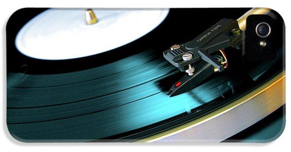 Vinyl Record IPhone 5 / 5s Case by Carlos Caetano