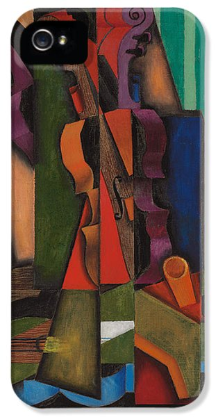 Violin And Guitar IPhone 5 / 5s Case by Juan Gris