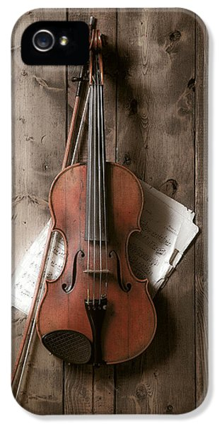 Violin IPhone 5 / 5s Case by Garry Gay