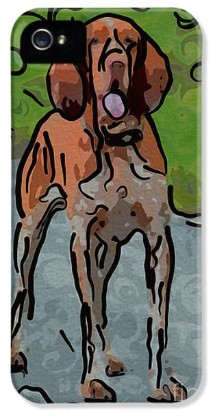 Patiently iPhone 5 Cases - Waiting Patiently Over Here iPhone 5 Case by Omaste Witkowski