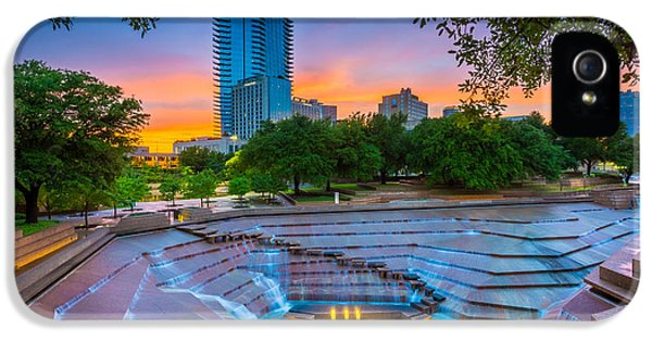 Epic iPhone 5 Cases - Water Gardens Sunset iPhone 5 Case by Inge Johnsson