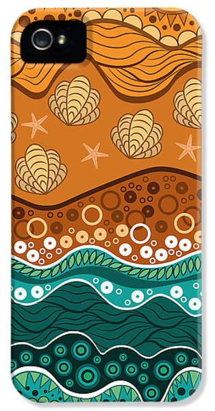Waves IPhone 5 / 5s Case by Veronica Kusjen