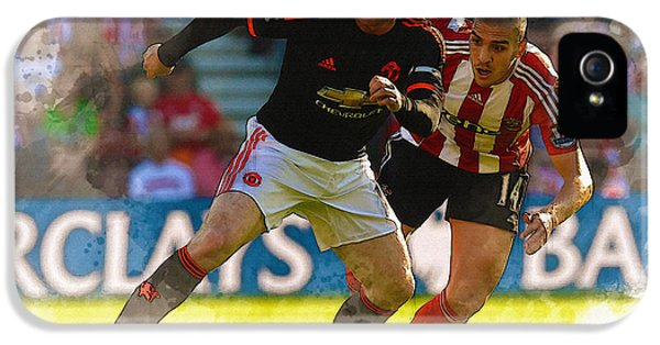 Wayne Rooney Is Marshalled IPhone 5 / 5s Case by Don Kuing
