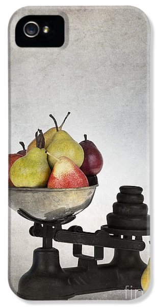 Grunge Style iPhone 5 Cases - Weighing pears iPhone 5 Case by Jane Rix