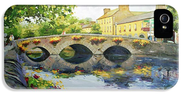 Oil House iPhone 5 Cases - Westport Bridge County Mayo iPhone 5 Case by Conor McGuire