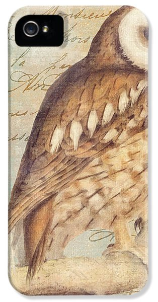 White Faced Owl IPhone 5 / 5s Case by Mindy Sommers