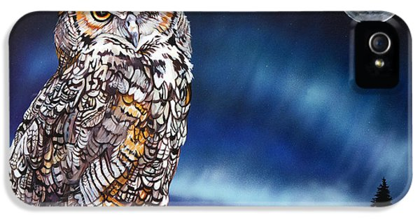 Who Doesn't Love The Night IPhone 5 / 5s Case by J W Baker