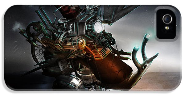 Steampunk iPhone 5 Cases - Who Knew what Snails Can Do iPhone 5 Case by Karen K