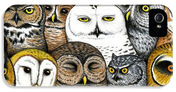Who's Hoo IPhone 5 / 5s Case by Don McMahon