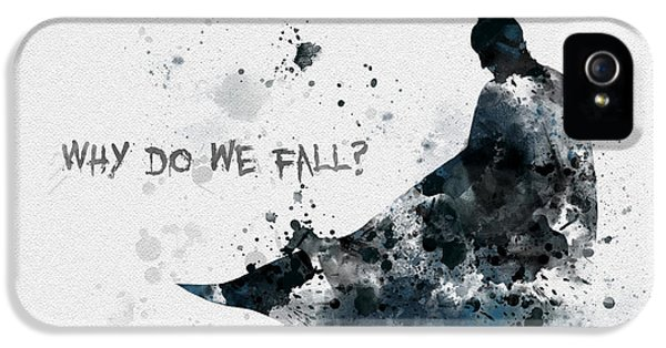 Why Do We Fall? IPhone 5 / 5s Case by Rebecca Jenkins