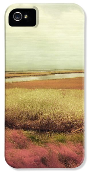 Wrapped iPhone 5 Cases - Wide Open Spaces iPhone 5 Case by Amy Tyler