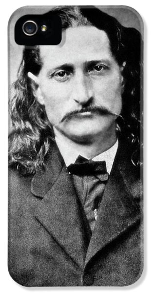 Wild Bill Hickok - American Gunfighter Legend IPhone 5 / 5s Case by Daniel Hagerman