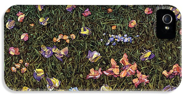 Wildflowers IPhone 5 / 5s Case by James W Johnson