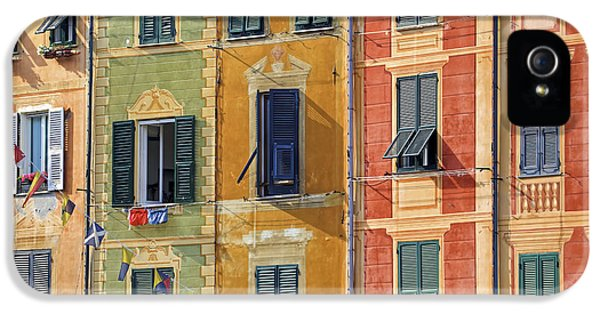 Meeting iPhone 5 Cases - Windows of Portofino iPhone 5 Case by Joana Kruse