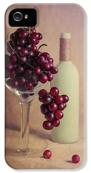 Wine On The Vine IPhone 5 / 5s Case by Tom Mc Nemar