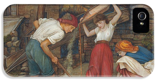 Work Tool iPhone 5 Cases - Winnowing iPhone 5 Case by John Roddam Spencer Stanhope