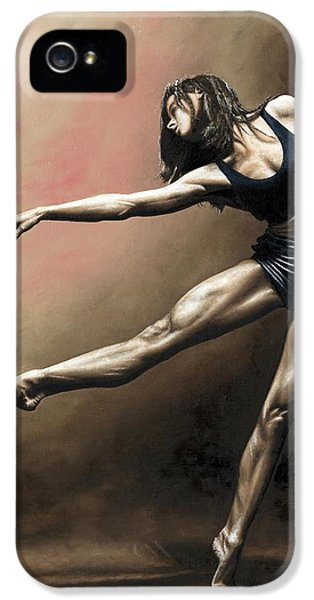 Emotion iPhone 5 Cases - With Strength and Grace iPhone 5 Case by Richard Young