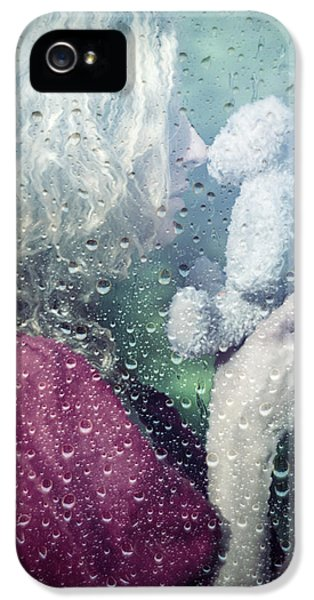Caucasian iPhone 5 Cases - Woman And Teddy iPhone 5 Case by Joana Kruse