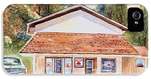 Woodcock Insurance In Watercolor  W406 IPhone 5 / 5s Case by Kip DeVore