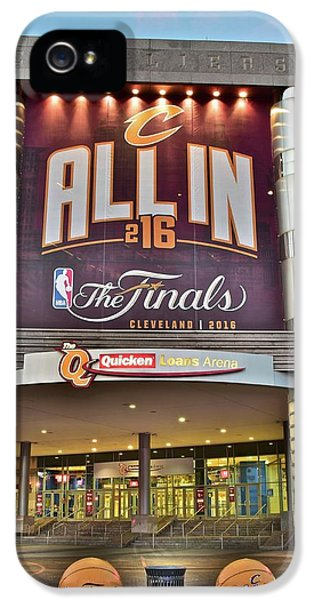 World Champion Cleveland Cavaliers IPhone 5 / 5s Case by Frozen in Time Fine Art Photography