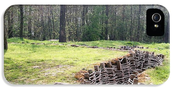 IPhone 5 / 5s Case featuring the photograph World War One Trenches by Travel Pics