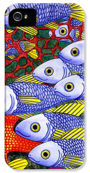 Yellow Fins IPhone 5 / 5s Case by Catherine G McElroy