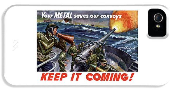 Conservation iPhone 5 Cases - Your Metal Saves Our Convoys iPhone 5 Case by War Is Hell Store