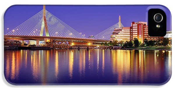 Memorial iPhone 5 Cases - Zakim Twilight iPhone 5 Case by Rick Berk