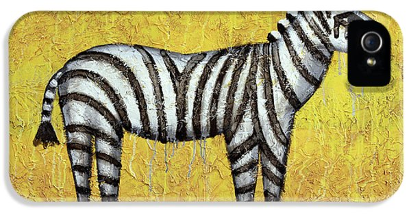 Zebra IPhone 5 / 5s Case by Kelly Jade King