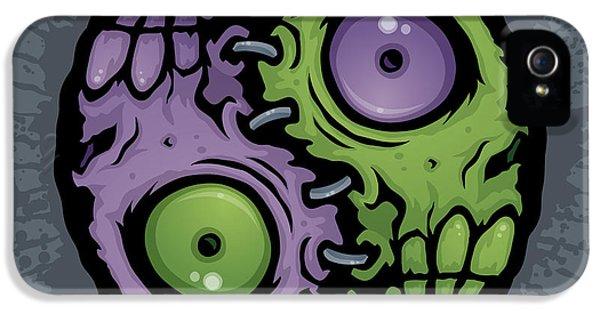 Zombie Yin-yang IPhone 5 / 5s Case by John Schwegel
