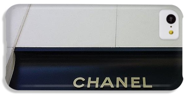 Chanel iPhone 5C Cases -  Chanel Waikiki iPhone 5C Case by Michael Kim