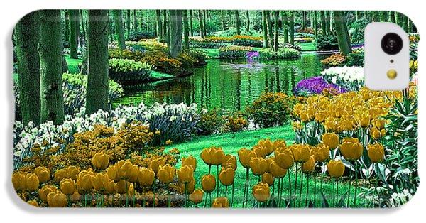 Flower Garden Of Love IPhone 5c Case by Marvin Blaine