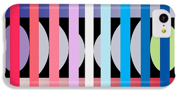 Fun Geometric  IPhone 5c Case by Mark Ashkenazi