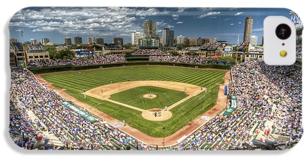 0234 Wrigley Field IPhone 5c Case by Steve Sturgill