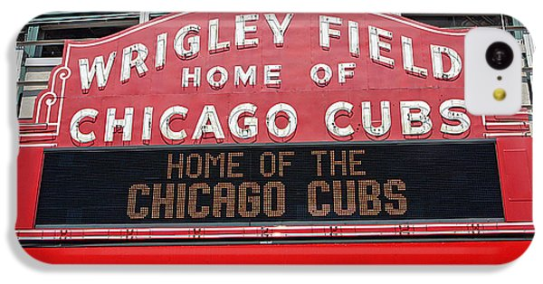 0334 Wrigley Field IPhone 5c Case by Steve Sturgill