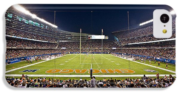 0588 Soldier Field Chicago IPhone 5c Case by Steve Sturgill