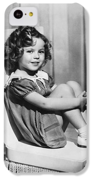 Actress Shirley Temple IPhone 5c Case by Underwood Archives