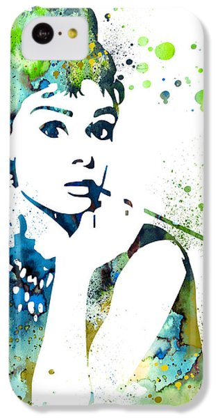Audrey Hepburn  IPhone 5c Case by Luke and Slavi