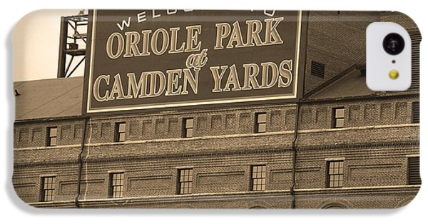 Baltimore Orioles Park At Camden Yards IPhone 5c Case by Frank Romeo