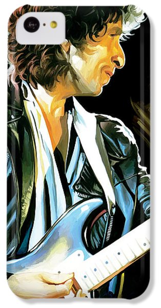 Bob Dylan Artwork 2 IPhone 5c Case by Sheraz A