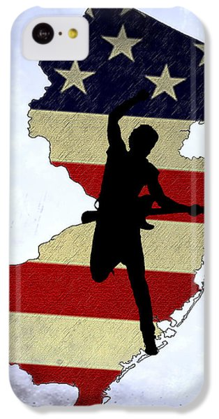 Born In New Jersey IPhone 5c Case by Bill Cannon