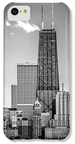 Chicago Hancock Building Black And White Picture IPhone 5c Case by Paul Velgos