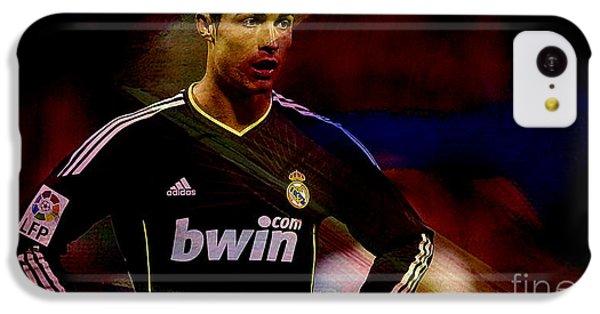 Cristiano Ronaldo IPhone 5c Case by Marvin Blaine