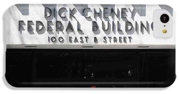 Dick Cheney Federal Bldg. IPhone 5c Case by Oscar Williams