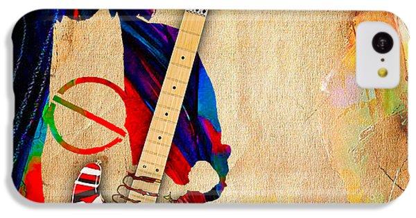 Eddie Van Halen Special Edition IPhone 5c Case by Marvin Blaine