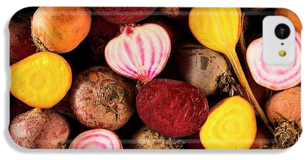 Fresh Beetroot And Red Onions IPhone 5c Case by Aberration Films Ltd