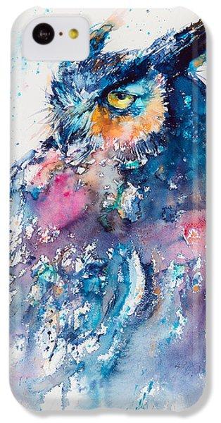 Great Horned Owl IPhone 5c Case by Kovacs Anna Brigitta